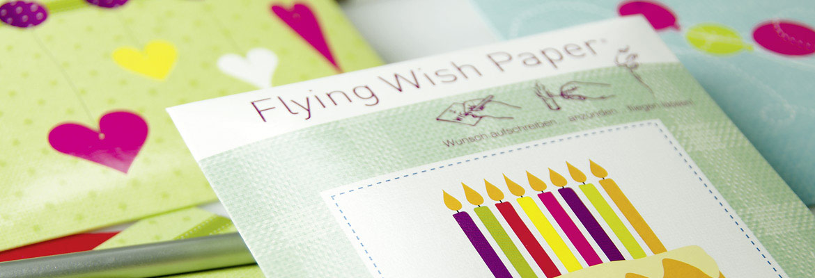 Contento Flying Wish Paper Wunschzettel